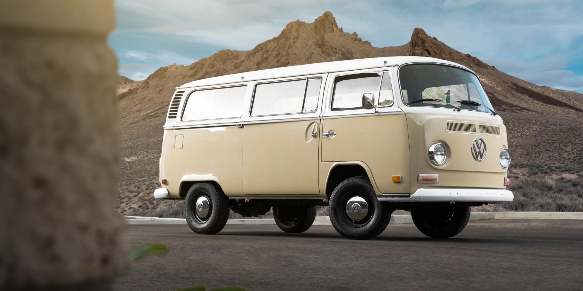 Klassiker umgerüstet: VW Bulli mit e-Golf-Genen