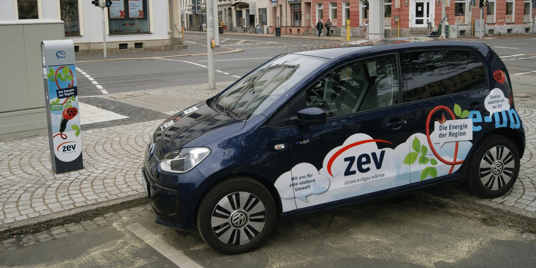 Zwickau plant 52 öffentliche Ladesäulen bis 2022