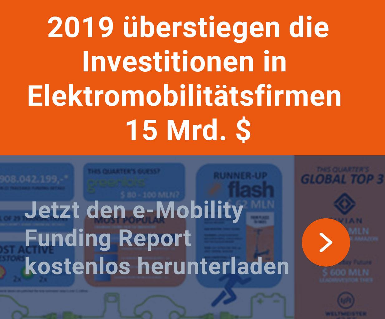 Global EV Funding Report