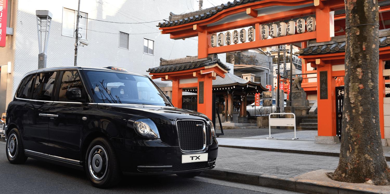 LEVC-Hybridtaxi kommt in Japan auf den Markt