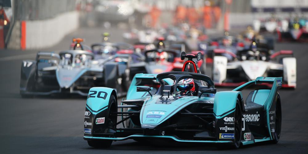 Formel E: Jaguar dominiert beim Drama in Mexiko / Drama für Audi und Porsche in Mexiko