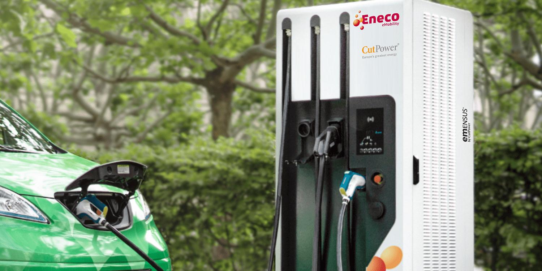 Ganzheitliche Ladelösungen von Eneco und Cut Power