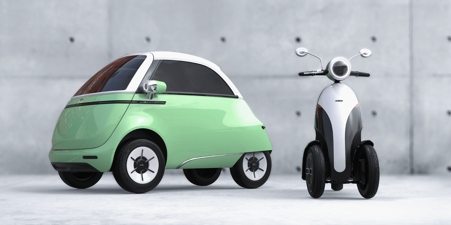 Micro Mobility zeigt Microlino 2.0