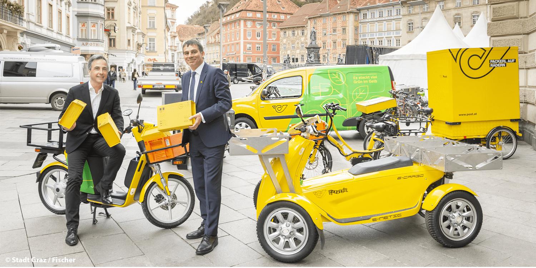 Österreichische Post will in Graz rein elektrische Flotte bis August 2021