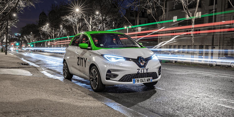 Paris: Renault ersetzt Moov'in durch E-Carsharing Zity
