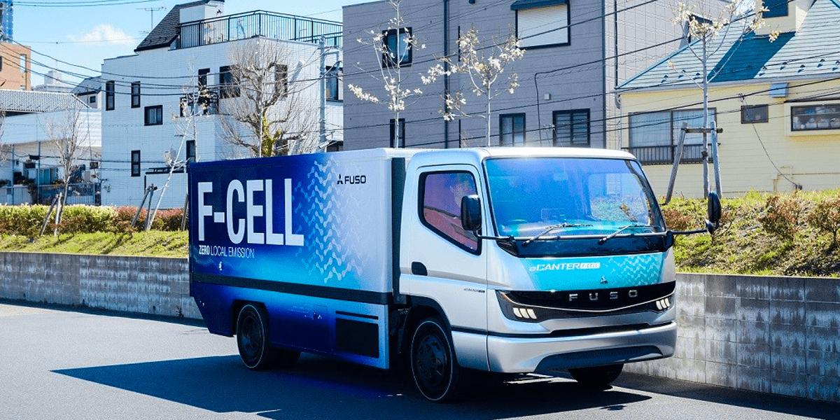 Daimler-Tochter Fuso zeigt Studie des eCanter F-CELL
