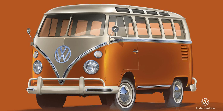 2020 VW Bulli History