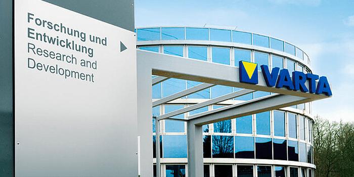 Varta erhält Millionen-Förderung für Batterie-Projekte