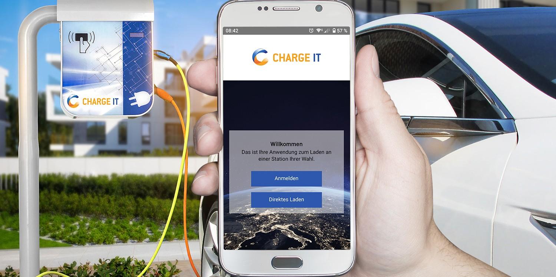 ChargeIT Mobility startet App für Ad-Hoc-Laden