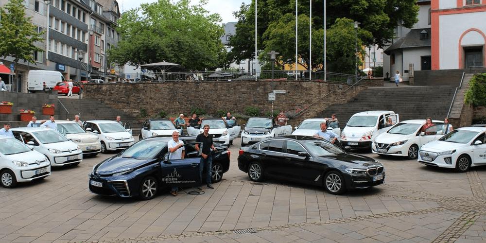 Stadt Siegen beschafft reine Batterie- und H2-Fahrzeuge