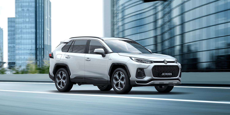 Suzuki stellt PHEV-SUV Across vor