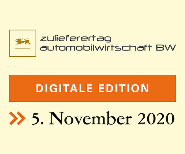 Digitaler Zulieferertag Automobilwirtschaft Baden-Wuerttemberg