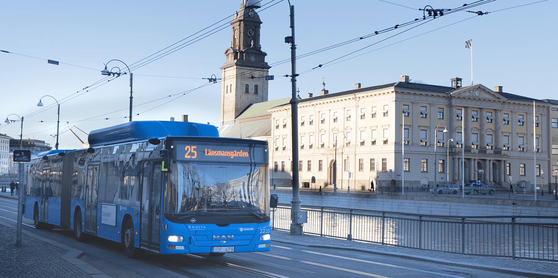 Keolis: Konzession für Betrieb von E-Bussen in Göteborg