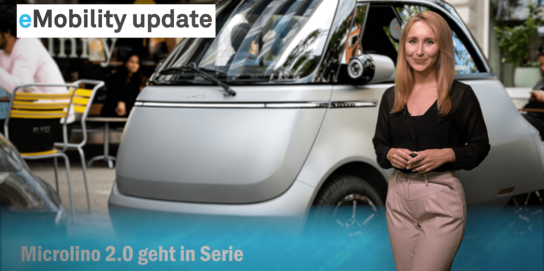 eMobility update: Serienversion Microlino, Siemens zeigt automatische Ladestation, Polestar Variante