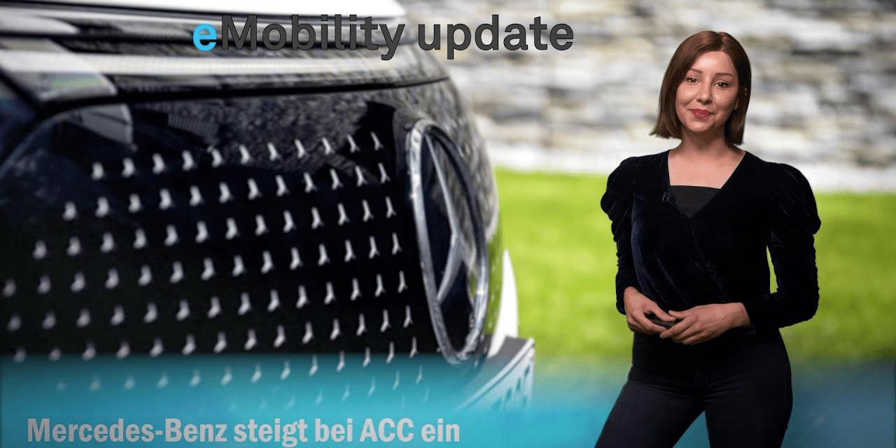 eMobility update: Mercedes produziert Batteriezellen, Geelys EX3, EnBW-Ladepark an A7, Nio-Batterie