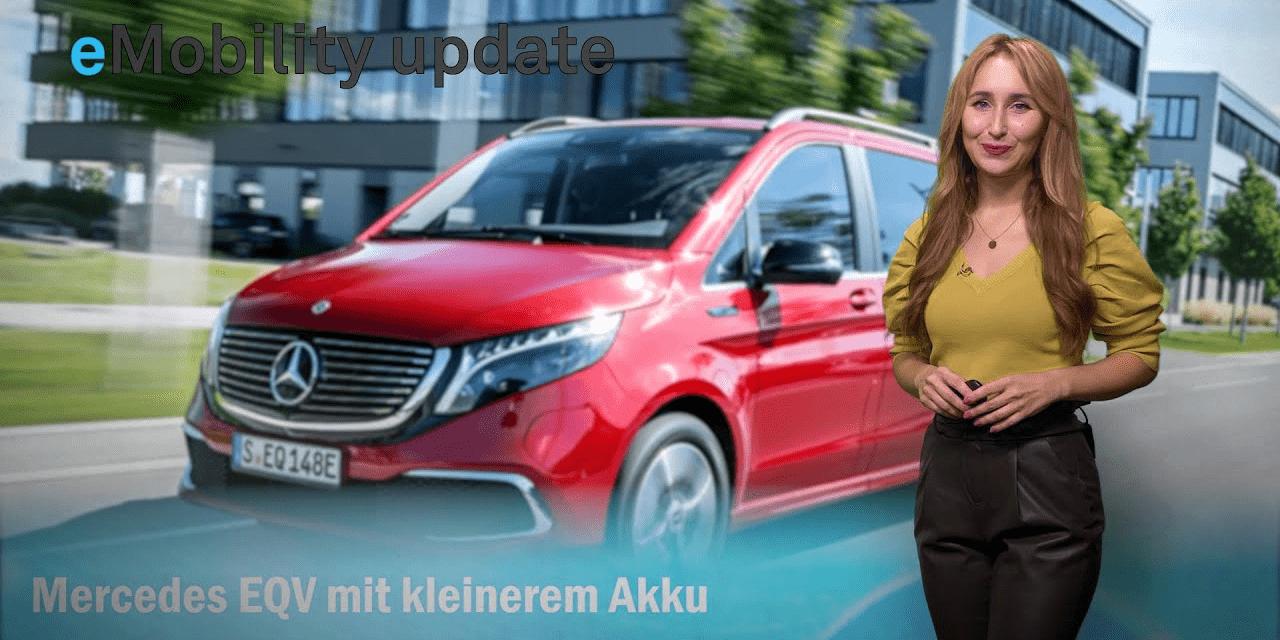 eMobility update: Tesla erzielt Rekorde, Akku für Mercedes EQV, Wasserstoff-Transporter, eMotion