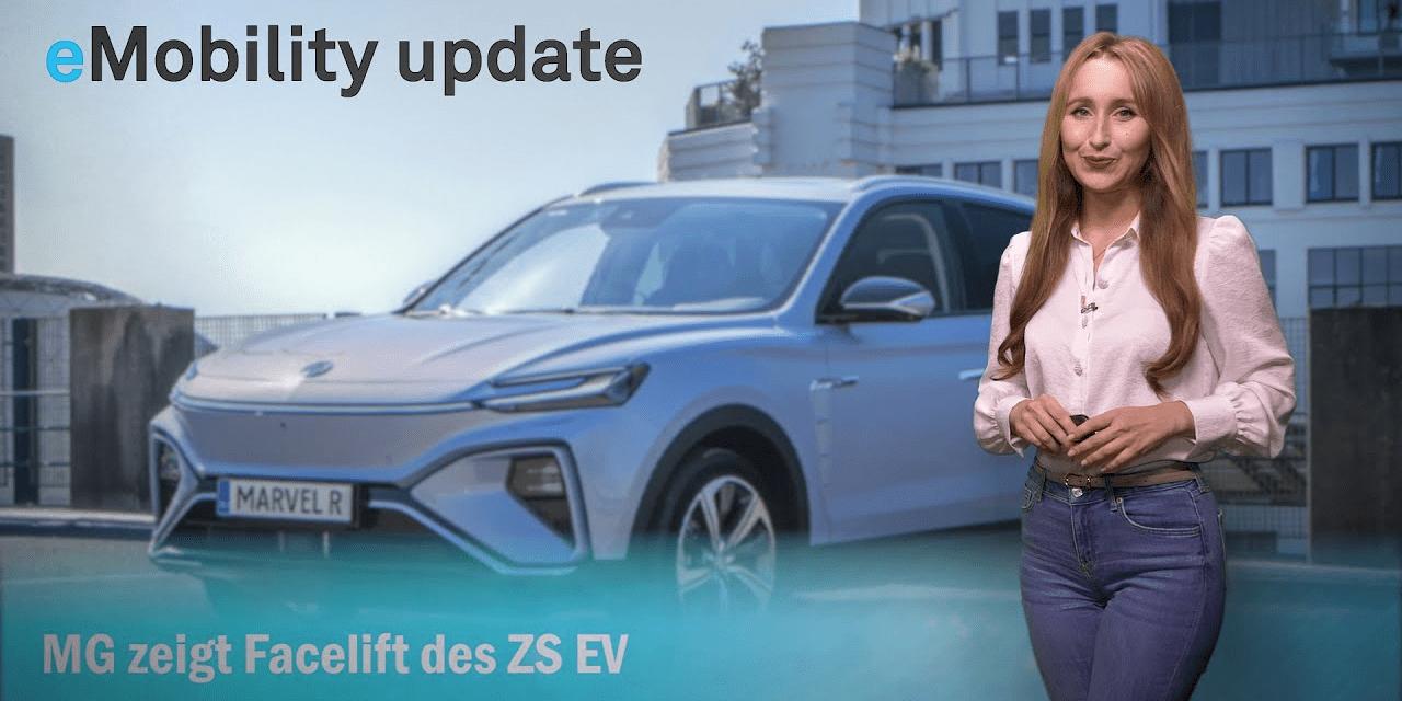 eMobility update: MG Facelift des ZS EV, Varta V4-Drive Zellen, E-Quote in Leipzig, HPC in Düsseldorf