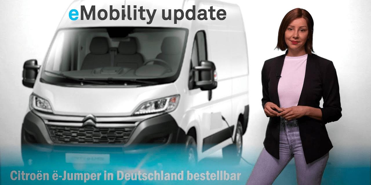 eMobility update: Citroën ë-Jumper, Lithium-Fabrik in Brandenburg, urbane EnBW-Schnellladeparks