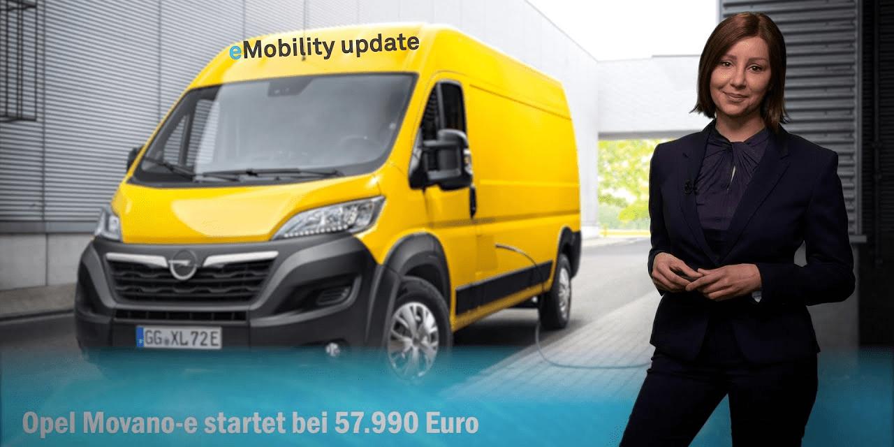 eMobility update: Frankreich investiert in Elektromobilität, Ladesäulen in Tschechien, Opel Movano-e